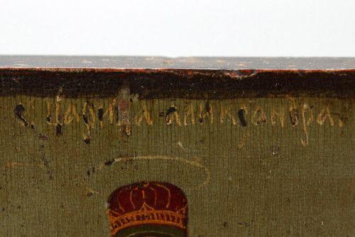 Старинная древнерусская икона «Святая Царица Александра» (Римская), Средняя Русь, к. 19 в.