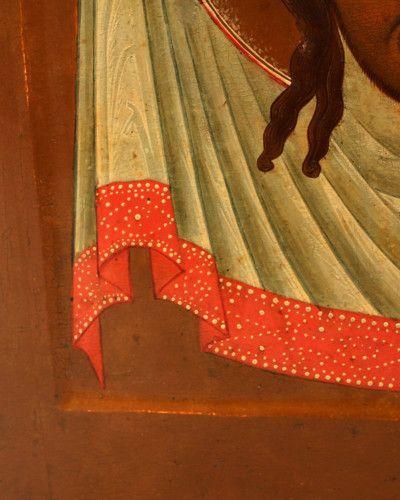 Старинная древнерусская икона «Спас Нерукотворный», Россия, г. Владимир, вт. пол. 19 в.