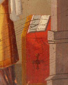 Древняя деревянная икона «Святой Симеон Богоприимец», Южная Россия, сер. 19 в.